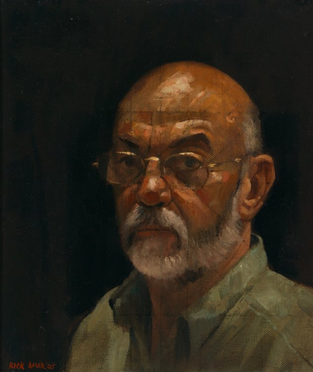 Self portrait, 2005 by Rick Amor