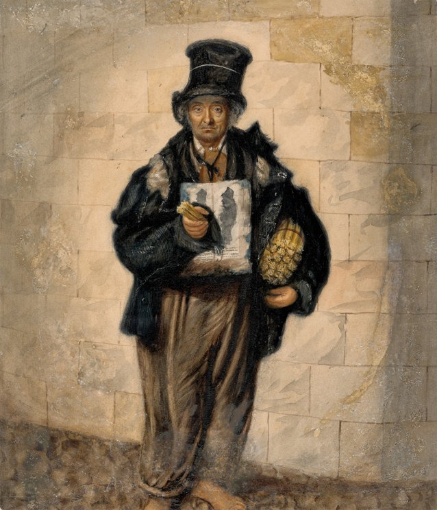 Billy the match man, Liverpool, 1844