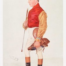 """Frank Wootton"" (Image plate from Vanity Fair), c. 1908 Sir Leslie Ward"