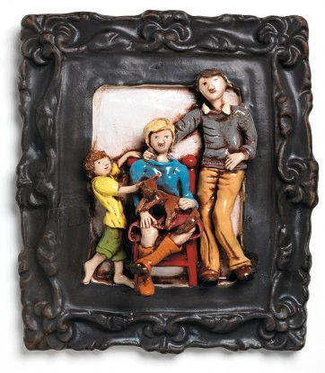 Holmes Family with Rusty Red Neck, 2016 by Anna Culliton