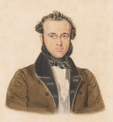 Richard Windeyer, 1840s by an unknown artist