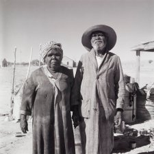 Aboriginal couple, Finniss Springs Mission, South Australia, 1959 (printed 2000) David Moore
