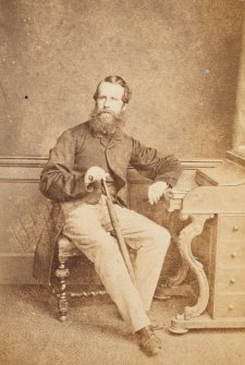 Sir Oswald Brierly, c. 1870 London Stereoscopic and Photographic Company