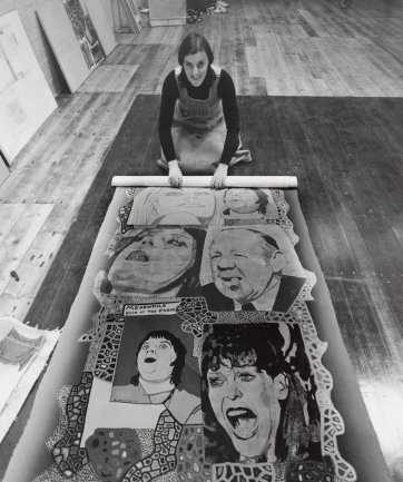 Sue Walker, 1977 Lewis Morley