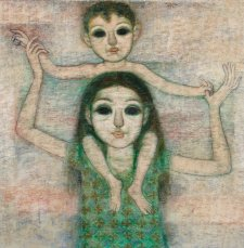 Kakak and Adik, 1972 by Mulyadi W
