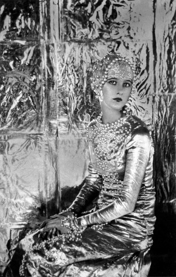 Baba Beaton: A Symphony in Silver, 1925 by Cecil Beaton