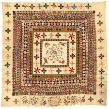 The Rajah quilt, 1841 by Kezia Hayter