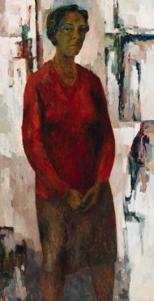 Self portrait, 1965 Jean Appleton