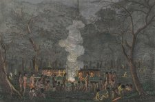 Corroboree, or Dance of the Natives of New South Wales, 1820 by Walter Preston