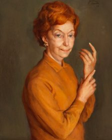 Portrait of Florence Broadhurst, 1968 Joshua Smith