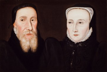 Edwin Sandys and Cicely Sandys (née Wilford), late 17th century