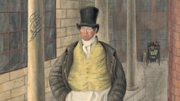 Porter, Charing Cross, 1824 by John Dempsey