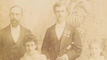 The Payne family, 1888-89 A. Flegeltaub