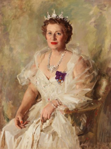Dame Mabel Brookes, c. 1955 William Dargie