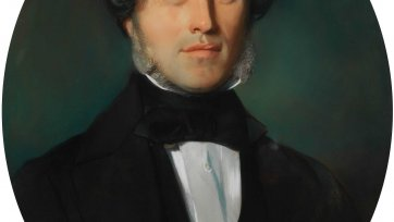 Dr. Arthur Martin a'Beckett, c. 1840 an unknown artist