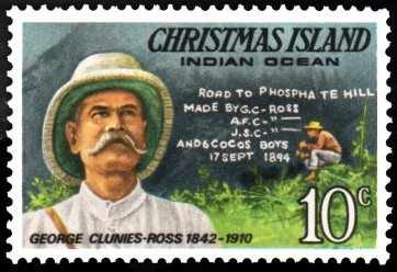 George Clunies-Ross stamp issued 1978