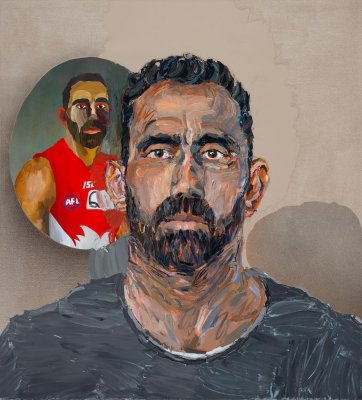 Adam (Adam Goodes), 2014 by Alan Jones