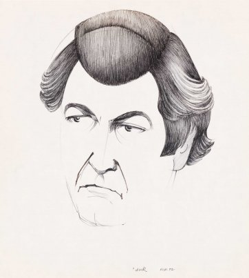 'awk' (Bob Hawke), 1972 by Frank Hinder