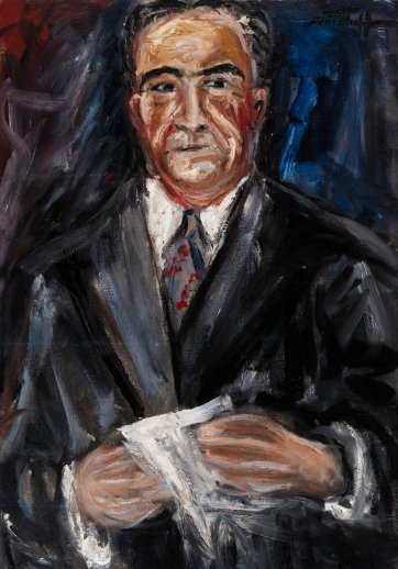 Sir Keith Murdoch, 1944 by Danila Vassilieff