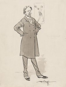 George Lambert in London, c. 1912 Alf Vincent