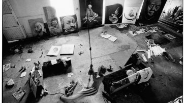 Brett Whiteley at Gas works studio, 1971 Greg Weight