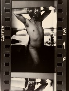 Nude self portrait, 1977 by Lewis Morley