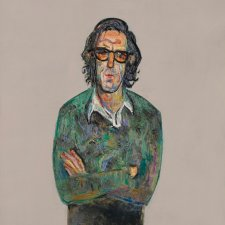 Sketch portrait of David Aspden, 1975 Fred Williams