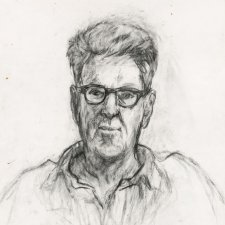 David Marr, 2011 by Nicholas Harding