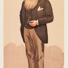 """The Cape High Commissioner"" (Sir Henry Brougham Loch) (Image plate from Vanity Fair), 1894 by Sir Leslie Ward"