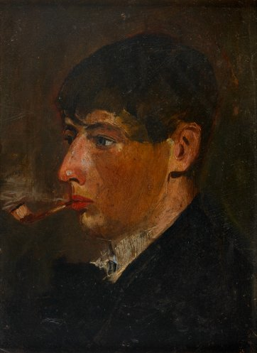 Portrait of Norman Lindsay as a student, c. 1896 George Coates