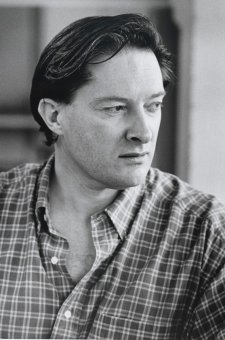 Portrait of Peter Nicholson, 1995 by David Moore