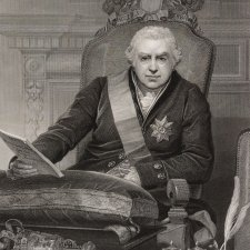 Portrait of Sir Joseph Banks, president of the Royal Society, 1812 by N Schiavonetti after Thomas Phillips