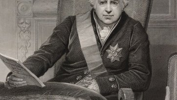 Portrait of Sir Joseph Banks, president of the Royal Society, 1812 N Schiavonetti after Thomas Phillips