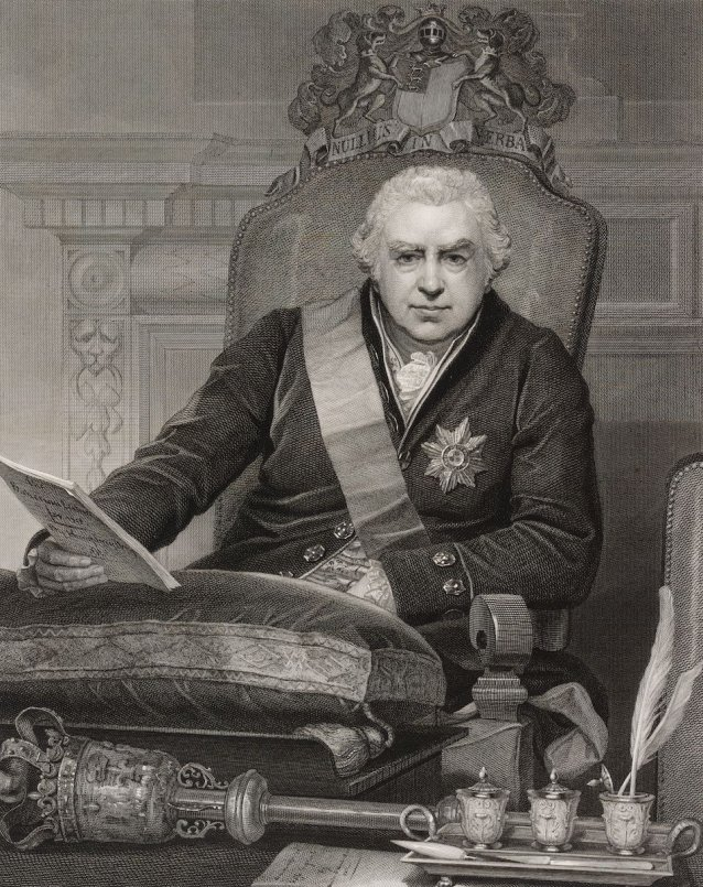 Portrait of Sir Joseph Banks, president of the Royal Society
