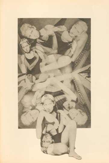 Photogravure from book Unavowed confessions (Aveux non avenus) Paris: Editions du Carrefour 1930 by Claude Cahun
