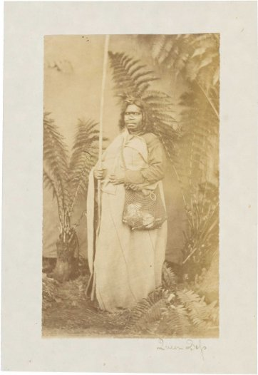 Queen Rose of the Wathaurung People, c.1876-77 by Fred Kruger