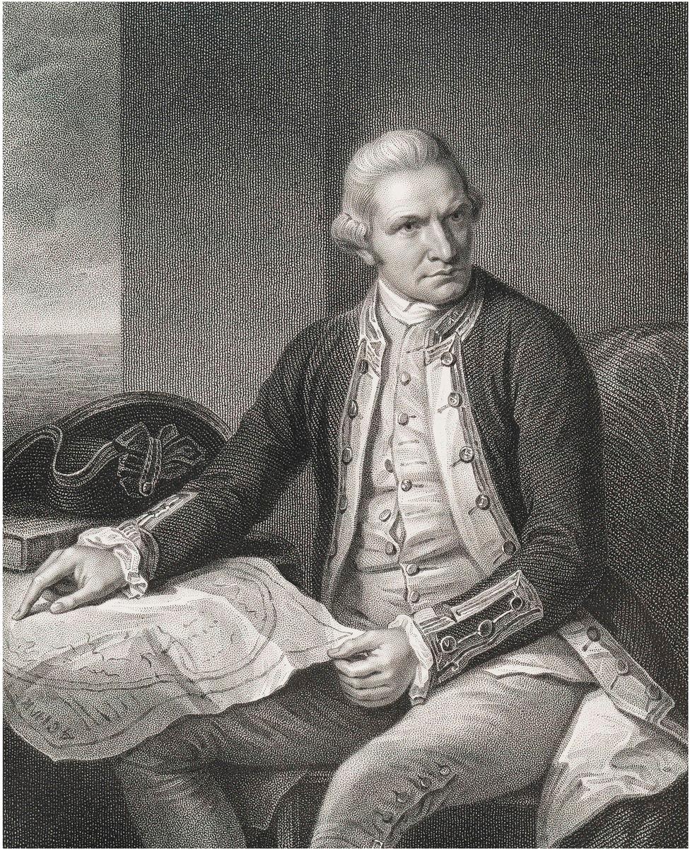 Captain Cook: Captain James Cook, National Portrait Gallery