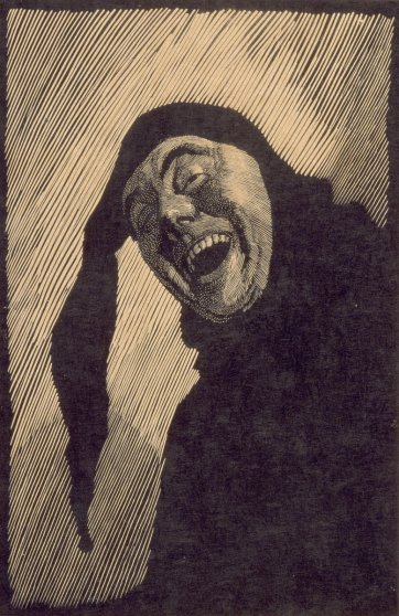 The Jester (self portrait), 1923 by Lionel Lindsay