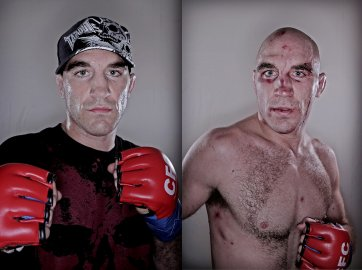 Brian Ebersole - Cage fighter, 2008 by Sam Ruttyn