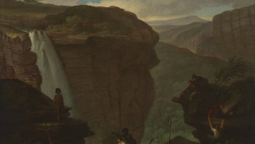 Waterfall in Australia, c. 1830 by Augustus Earle