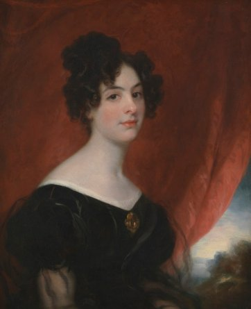 Ellen Stirling, c. 1828 by Thomas Phillips
