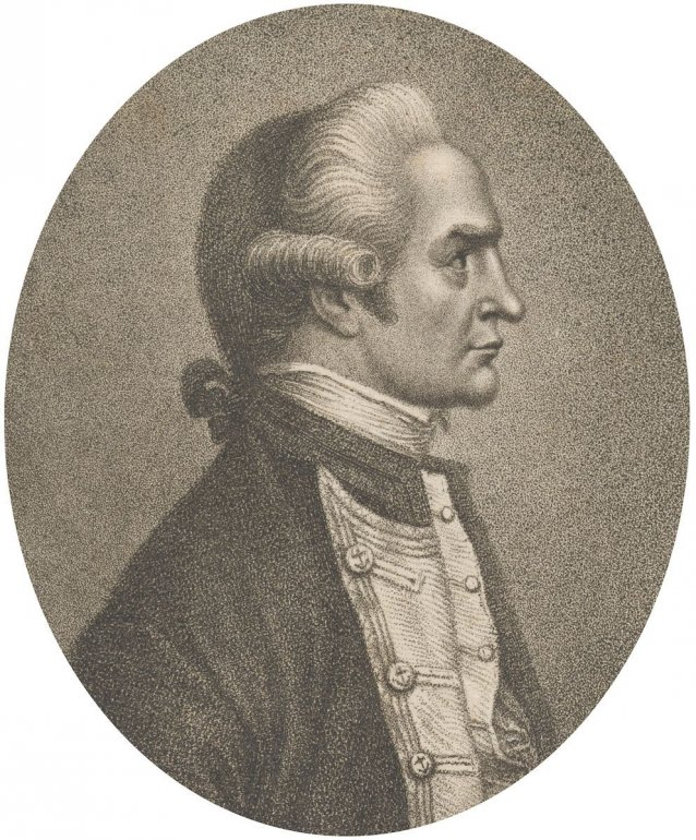 Captain James Cook FRS