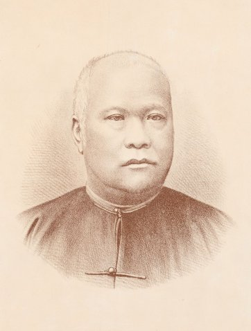Lowe Kong Meng, c.1887 Ludwig Lang after Johnstone O'Shannessy & Co