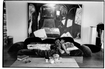 Brett Whiteley at Lavender Bay, 1976 Greg Weight