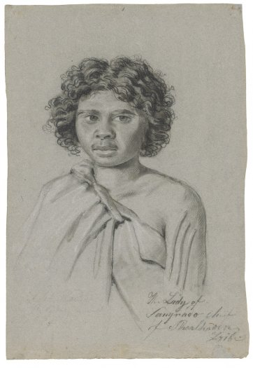 The lady of Sangraoo, chief of Shoalhaven tribe, 1834