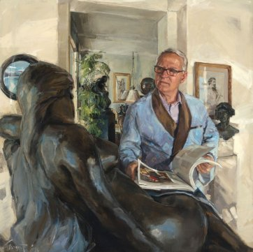 John Schaeffer AO - art collector and philanthropist, 2014 Evert Ploeg