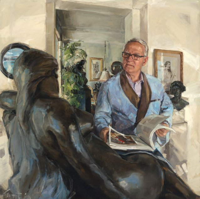 John Schaeffer AO - art collector and philanthropist