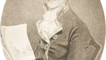 Portrait of Captain John Hunter, 1792 Daniel Orme