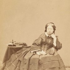 Her Majesty seated, 1860 John J. Mayall