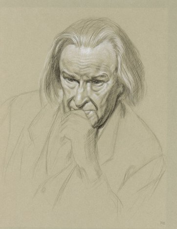 Portrait of Professor Derek Freeman, 1996 by Ralph Heimans